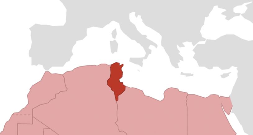 Tunesien Karte Welt.Tunesien