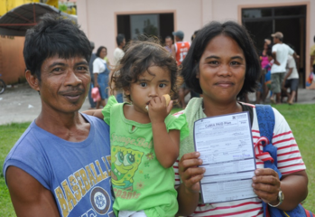 This low-income Filipino household feels secured with Microinsurance. RFPI Asia II promotes inclusive insurance markets through the implementation of regulatory frameworks and appropriate supervision practices. © GIZ