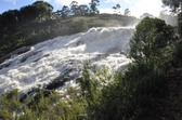 Madagascar. Waterfall in Mangamila, where a small hydropower plant was recently constructed. © GIZ