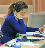 Bosnia and Herzegovina. Participant at a conference on the theme of adult education in Sarajevo. © GIZ