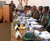 Harare, Zimbabwe. Participants in the election monitoring course at the SADC RPTC © GIZ