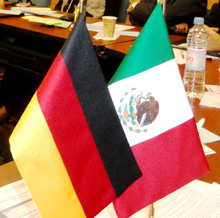 Mexico. Flags Germany and Mexico  © GIZ
