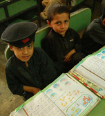 Children in a primary school near Peshawar © GIZ