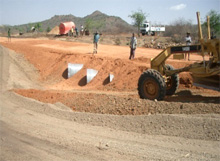South Sudan. Road construction in Eastern Equatoria. © GIZ
