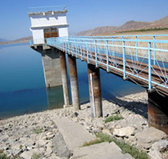 Central Asia. Reservoir in Tajikistan. © GIZ