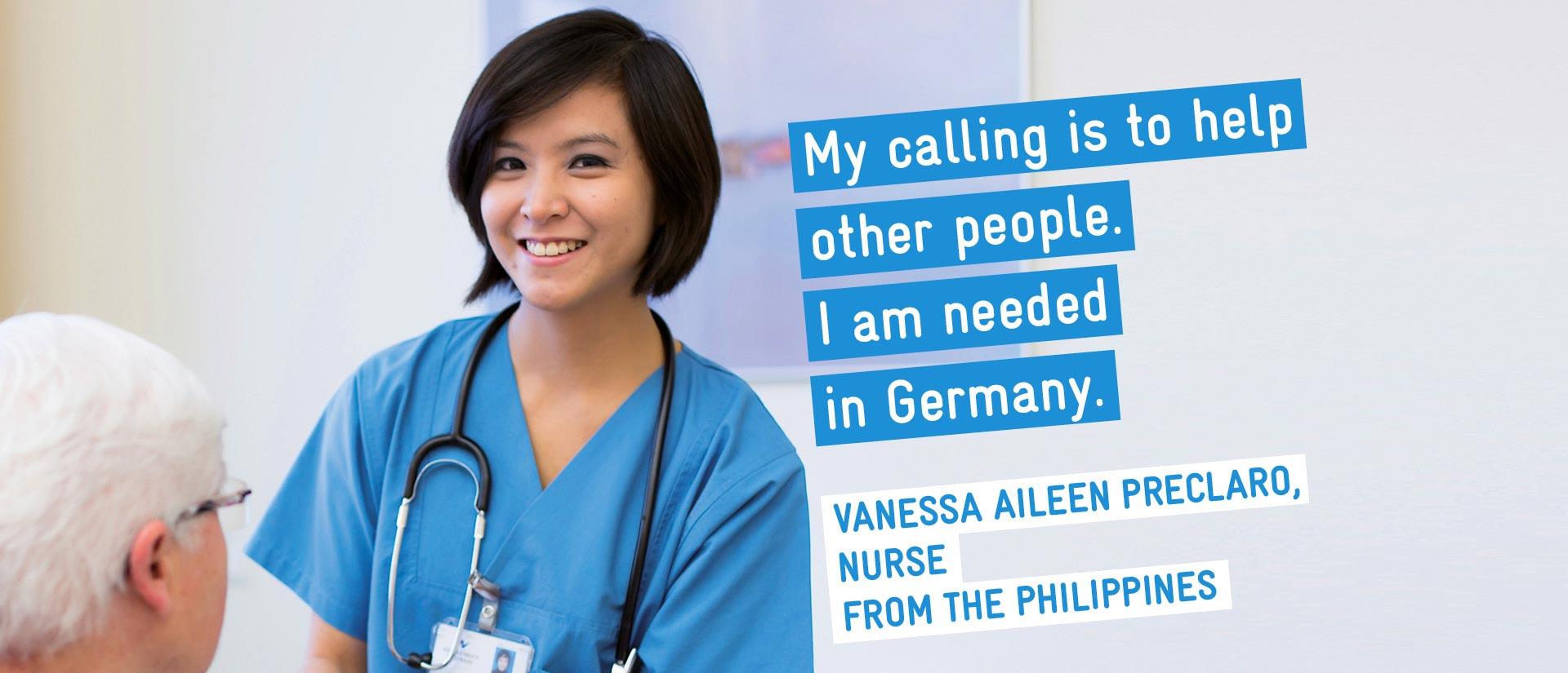 Vanessa Preclaro Nurse From The Philippines Kit Standart