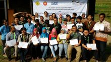 Organic agriculture training in Bogor, Indonesia. Photo: GIZ