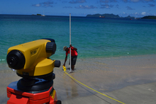 Grenada. Beaches are being surveyed to document the impacts of climate change. © GIZ