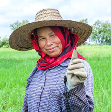 ASEAN. Rice farmer. © GIZ