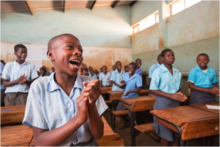 Malawi. Boys and girls in the classroom. © GIZ