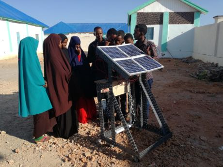 Somalia: Career prospects thanks to renewable energy.