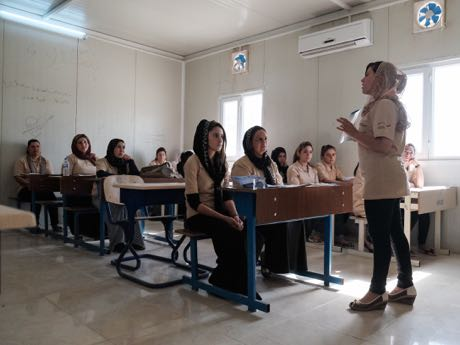 Trainings for health advisers, Northern Iraq