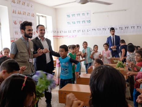Summer schools for kids, Northern Iraq