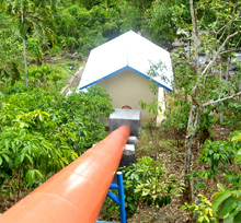 Thanks to EnDev, more than 100 micro-hydropower stations have been set up. © GIZ