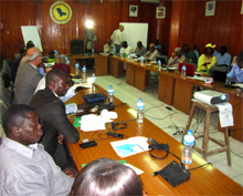 Chad. Workshop on the organisational development of the Lake Chad Basin Commission, October 2014 (photo: Dr Lames) © GIZ
