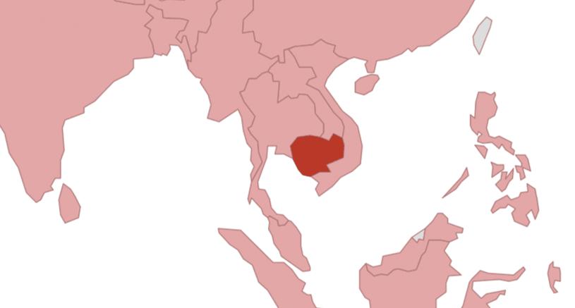 Malaria Kambodscha Karte.Cambodia