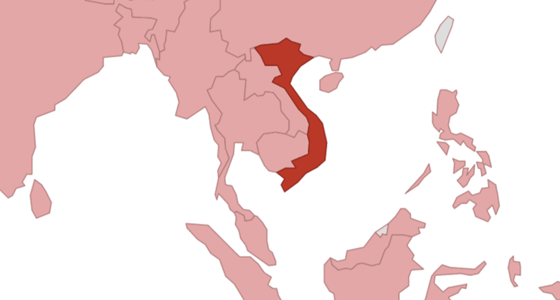 Map Of Germany Natural Resources.Viet Nam